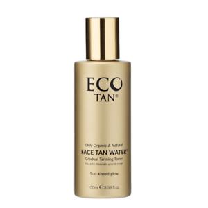 ECO TAN Face Tan Water - 100 ml Natural Colour Certified Organic + FREE SHIPPING