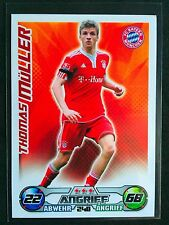 2009-10 Topps Match Attax Bundesliga Thomas Muller rookie card Bayern Munich