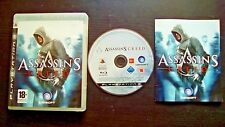 ASSASSIN'S CREED I + II : LOT 2 JEUX Sony PLAYSTATION PS3 (COMPLET envoi suivi)