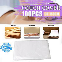 100PCS Couch Cover For Massage Tables Bed Beauty Treatment Waxing Protection
