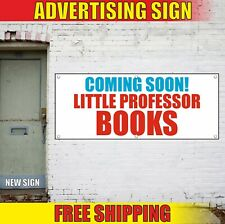 Coming Soon Banner Advertising Vinyl Sign Flag shop Books child baby grand open