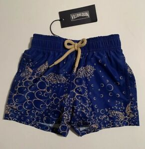 New With Tags Authentic Vilebrequin Swim Trunks / 2T/ 2Y Kids Boys $135