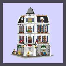 LEGO Custom Modular Coffee Shop & Library - INSTRUCTIONS ONLY!!!