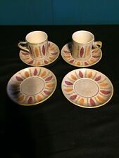 Red Wing PEPE 2 Cup mugs & 4 Saucers