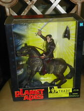Hasbro Planet of the Apes Thade w Battle Steed Action Figure 2001 MISB