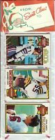 1979 Topps Football Holiday Christmas Rack Pack HOF Newsome Shell Campbell RC?A6