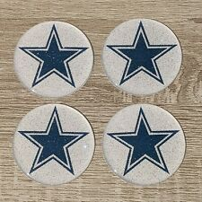 Dallas Cowboys Dayton Wire Wheel Chips Emblems Decals Set Of 4 Size 225in