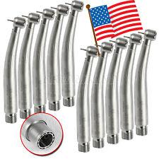 10 USA Dental Electric LED generator High Speed Turbine Handpiece Triple 2 Hole