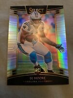 2018 SELECT PRIZM SILVER RC DJ MOORE CAROLINA PANTHERS PRIZM PARALLELS - C392