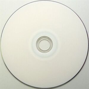 10 White Inkjet Printable DVD+R DL Dual Layer Blank Disc