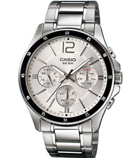 CASIO MTP-1374D-7  MTP-1374  Multifunction  50m  Men's   MTP1374 With Box