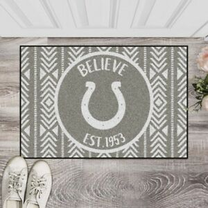 """Indianapolis Colts Southern Style Starter Mat 19"""" x 30"""" NFL FANMATS"""