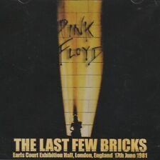 PINK FLOYD - THE LAST FEW BRICKS. LONDON 1981. 2CD
