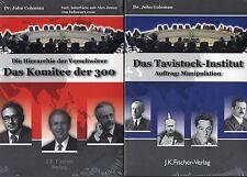 3 Teilige Buchreihe von Dr. John Coleman - Komitee 300 ,Tavistock , Club of Rome