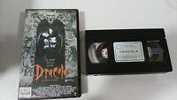 DRACULA DE BRAM STOKER VHS CINTA TAPE COLECCIONISTA EDICION ESPAÑOLA