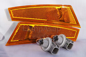 Front Side Marker Turn Signal Parking Light Lamps One Pair Fit 2008-2012 Liberty