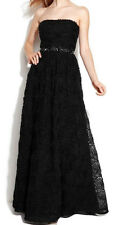 Adrianna Papell New Petite Strapless Beaded Ball Gown Size 8P MSRP $299 #CN 749