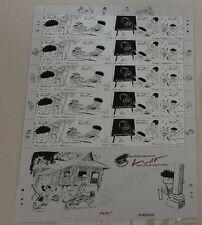 Malaysia 2008 Cartoons Lat VIP Stamp Sheet set P000000 MNH