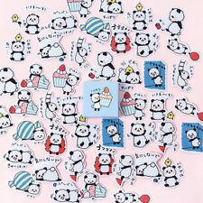 45pcs/box Cute Panda Baby Paper Sticker Kawaii Stationery DIY Label Stickers