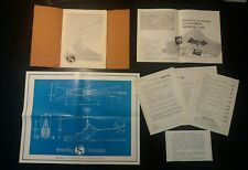 Original RotorWay Scorpion 1967 Kit Helicopter Sales Presentation Brochure Rare