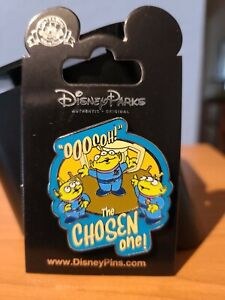 Disney Parks authentic Toy Story Chosen One Little green men pin