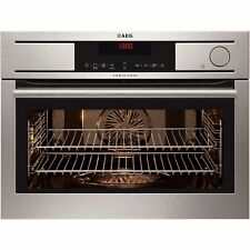AEG KS8404001M-Touch Control Compact Multifunction Steam Oven with Meat Probe!!