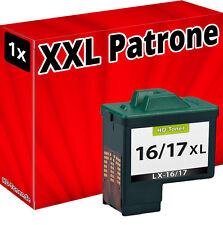 Tinte Patronen für Lexmark Nr. 16/17 schwarz 10nx217e 10n0016 Refill