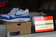 Nike Air Max 1 Hyperfuse NRG OG Blue (2012) 9,5/10 SZ 11 US