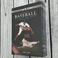 New Baseball A Film by Ken Burns (DVD, 2010, 11-Disc Set) Sports Movie Fitness