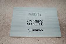 Owner's Manual Booklet for 2001 Mazda Millenia Oem Millenia S Factory Owners
