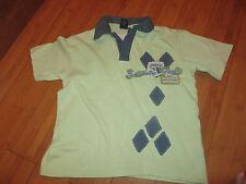 boys boy t-shirt tshirt top aged 4 years next green polo shirt short sleeved