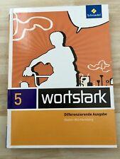 Wortstark 5 - Deutsch Sprachbuch Lesebuch Klasse 5 Realschule  Ba-Wü NEU!!!