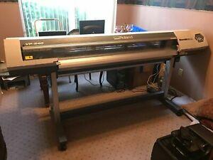 """Roland Printer VP-540 VersaCAMM Print & Cut - 54"""" Wide Format +1 Year Support"""