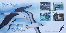 Stamps | South Georgia & SSI FDC | Albatross Conservation [01318]