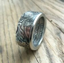 Ukrainian Coin Ring - 5 hryvnia Ukraine -Ukrainian rings - souvenir from Ukraine