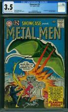 Showcase #37 CGC 3.5 DC 1962 1st Metal Men! Key Silver Age! K12 203 cm