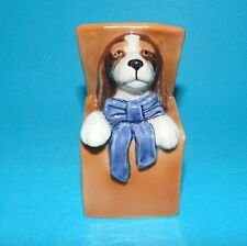 "Royal COPENHAGEN Ornamento Statuetta cane ""Cocker Spaniel in Abox' #751"