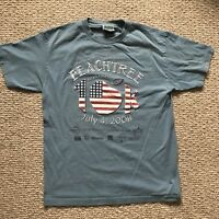 Vintage Peachtree Roadrace Shirt Size M Made In Usa