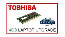 4GB Memory Ram Upgrade for Toshiba Satellite C850 (all models) Laptop