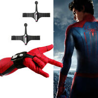 1 Pair Spiderman Homecoming Wrist Guard Spider Prop Web Shooter Cosplay Toy Prop