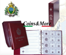 Album raccoglitore per Monete della REPUBBLICA DI  SAN MARINO dal 1864 al 1938