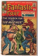 Marvel Comics VG-  FANTASTIC FOUR  #27 app Sub mariner 3.0