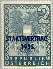 EBS Austria Österreich 1955 State Treaty - Staatsvertrag ANK 1026 MH*