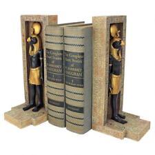 Set of 2: Egyptian Sky God Horus Falcon Head Book End Bookend