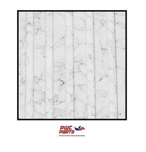 "BlackTip Traction Tapis Rouleau - Coupe Rainure - Blanc Granite 39 "" x 78 "" - *"