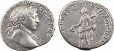 Trajan, denier, Rome, 108, COS V PP SPQR OPTIMO PRINC, Equité - 12