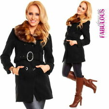 Polyester Unbranded Dry-clean Only Solid Coats & Jackets for Women