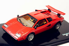 1/43 PremiumX Lamborghini Countach LP400 Wolf Version Red Resin