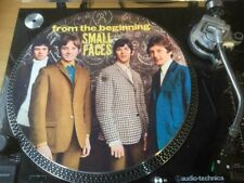 """12""""  VINYL  SLIPMAT SMALL FACES  FROM THE BEGINNING MODS TURNTABLE LP"""