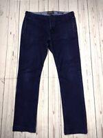 Mens Hammond and Co Patrick Grant Dark Blue Jeans Straight Leg W34 L31 34R